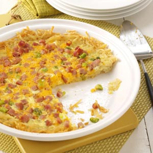 Hash Brown Quiche Recipe