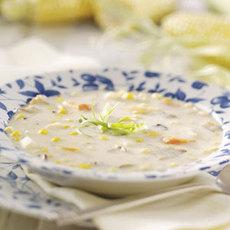 Cheesy Corn Chowder Recipe