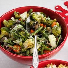Roasted Green Vegetable Medley Recipe