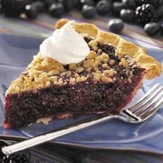 Black 'n' Blue Berry Crumb Pie Recipe