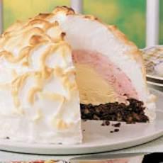 Brownie Baked Alaska Recipe