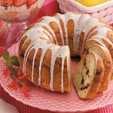 Streuseled Zucchini Bundt Cake Recipe