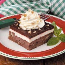 Layered Brownie Dessert Recipe