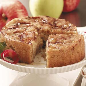 Cinnamon-Apple Honey Cake Recipe