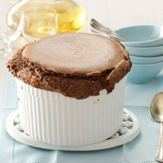 Hot Cocoa Souffle Recipe