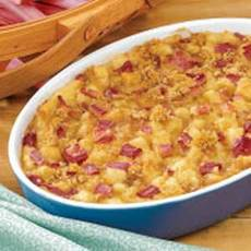 Rhubarb Pudding Recipe