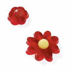 Cherry Gelatin Flowers Recipe