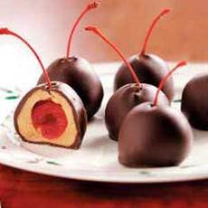 Cherry Peanut Butter Balls Recipe