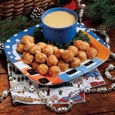 Honey-Mustard Turkey Meatballs Recipe