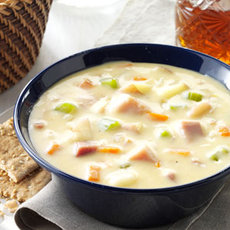 Cheddar Potato Chowder Recipe