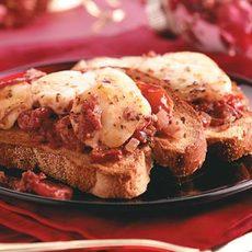 Broiled Tomato-Mozzarella Dip Recipe