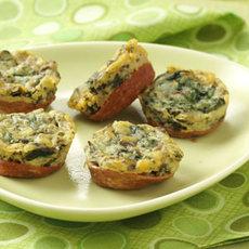 Mini Spinach Frittatas Recipe