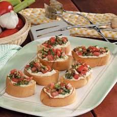 Bruschetta from the Grill Recipe