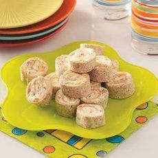 Veggie Pinwheel Appetizers Recipe