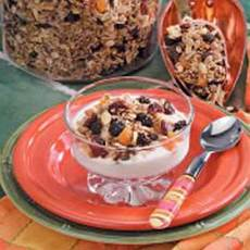 Nut 'n' Fruit Granola Recipe
