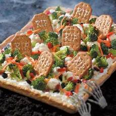Graveyard Veggie Pizza Recipe
