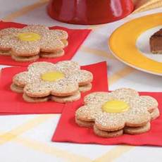 Lemon Curd Cookies Recipe