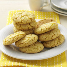 Lemon Crisp Cookies Recipe
