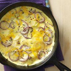 Herb Breakfast Frittata Recipe