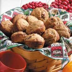 Cran-Orange Bran Muffins Recipe