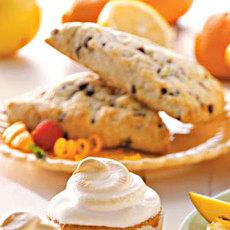 Tangerine Chip Tea Scones Recipe