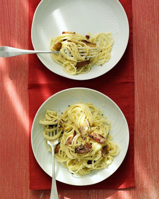 Spaghetti Carbonara | Bottomless Bites