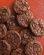 Dark-Chocolate Cookies with Espresso