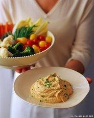 Roasted-Garlic Hummus