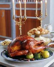 Roast Turkey with Quince Glaze