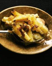 Macaroni Quattro Formaggi with Prosciutto
