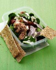 Baby Spinach Salad with Tuna