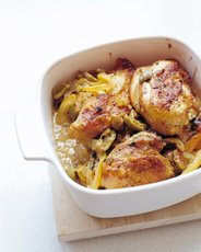 Lemon and Olive Chicken