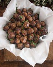 Meatballs with Fresh Tomato Sauce