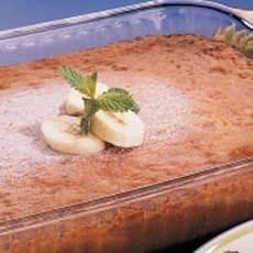 Banana and Nut Cake Recipe