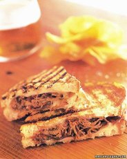 Grilled Cheese with Pulled Short Ribs