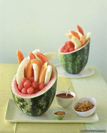 Dessert of the Month: Watermelon Basket