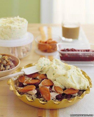 Thanksgiving-Leftovers Shepherd's Pie