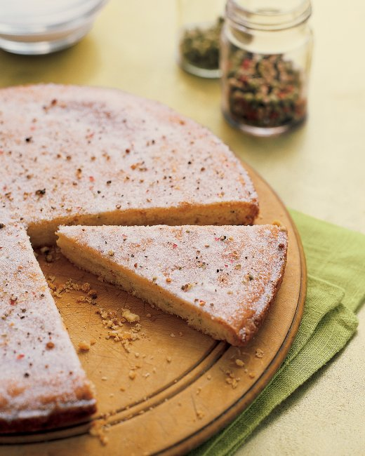 Cookie of the Month: Peppercorn Shortbread