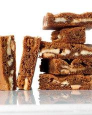 White Chocolate-Gingerbread Blondies