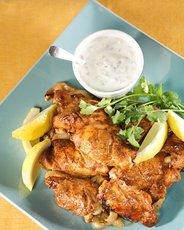 Indian-Spiced Chicken with Raita