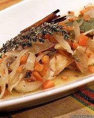 Rick's Seared Fish in Escabeche