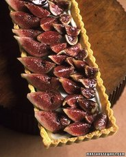 Fig Tart with Cream Cheese Filling