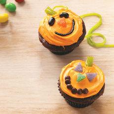Jack-o'-Lantern Cupcakes Recipe
