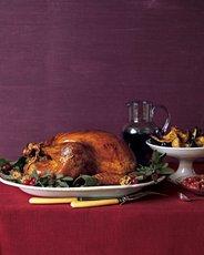 Roasted Dry-Brined Turkey