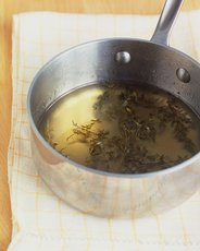 Muscat and Lemon Thyme Syrup