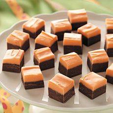 Halloween Layered Fudge Recipe