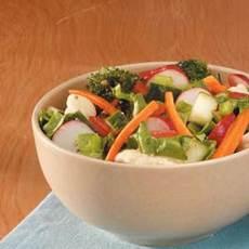 Super Veggie Tossed Salad Recipe