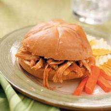 Shredded Turkey Sandwiches Recipe