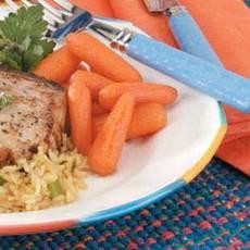 Carrots with Honey Glaze Recipe