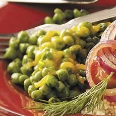 Cheese 'n' Dill Peas Recipe